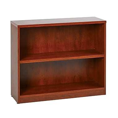 Office Star 2-Shelf Laminate Bookcases