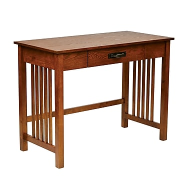 Office Star Sierra Collection Writing Desk, Ash