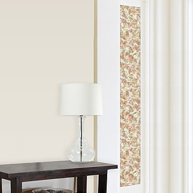 Brewster Home Fashions Window Decor Brushstrokes Sidelight Window Film
