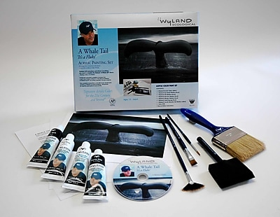 Weber Art WYLAND GREAT WHITE WHALE TAIL PAINTING KIT