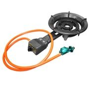 Alpine Cuisine Propane Burner w/ Regulator and Hose