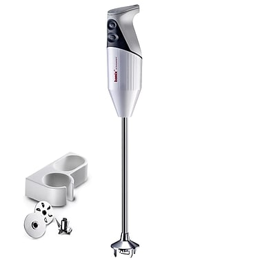 Bamix Gastro Pro-3 Professional Series NSF Rated 200 Watt 2 Speed 3 Blade Hand Blender