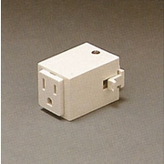 PLC Lighting Outlet Adaptor; White