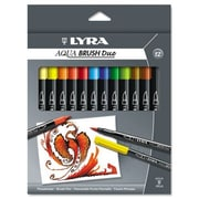 Dixon  Ticonderoga Lyra Dual Tip Marker, 12 Per Pack
