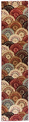Well Woven Avenue Circles and Circles Multi Area Rug; Runner 1'8'' x 7'2''