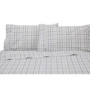 IZOD Windowpane Plaid Pillowcase Pair (Set of 2)