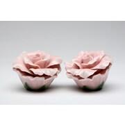 CosmosGifts Rose Salt and Pepper Set