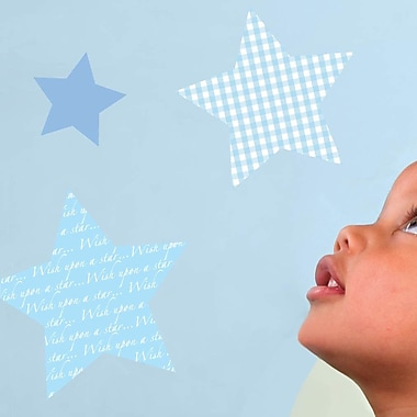 Fun To See Wish Upon A Star Nursery and Bedroom Wall Decal