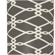 Illumalite Designs 11'' Scientific Drum Lamp Shades (Set of 2); Grey
