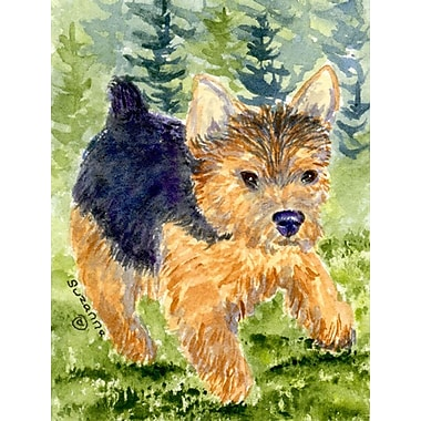 Caroline's Treasures Norwich Terrier 2-Sided Garden Flag