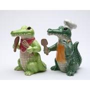 CosmosGifts Alligator Salt and Pepper Set