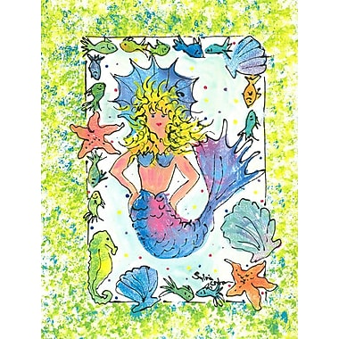 Caroline's Treasures Mermaid 2-Sided Garden Flag