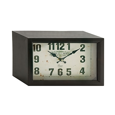 Cole & Grey Fabulous Table Clock