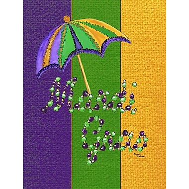 Caroline's Treasures Mardi Gras 2-Sided Garden Flag
