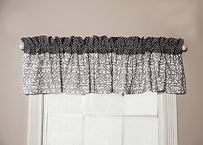 Trend Lab Dr. Seuss Cat and Things 82'''' Curtain Valance