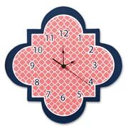 Trend Lab Quatrefoil 11'' Wall Clock