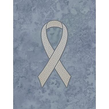Caroline's Treasures Ribbon for Lung Cancer Awareness House Vertical Flag