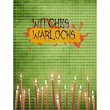 Caroline's Treasures Witches and Warlocks Halloween House Vertical Flag
