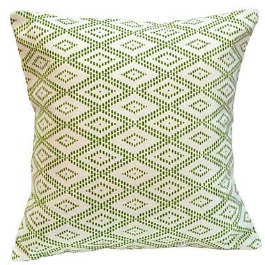 Sustainable Threads Charleston Social Cotton Throw Pillow; Large