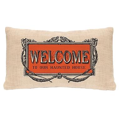 Heritage Lace Halloween Frames Lumbar Pillow