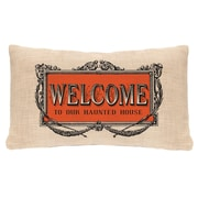 Heritage Lace Halloween Frames Lumbar Pillow