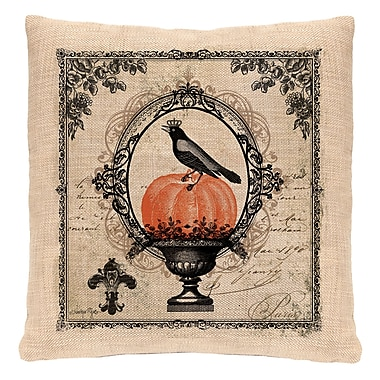 Heritage Lace Vintage Halloween Throw Pillow