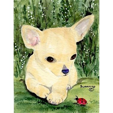 Caroline's Treasures Chihuahua 2-Sided Garden Flag