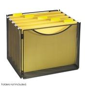 """Safco Onyx™ Desktop Box File, Black, 10""""H x 12 1/2""""W x 11""""D"""
