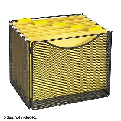 Safco Onyx 2170 Mesh Desktop Box file, 10
