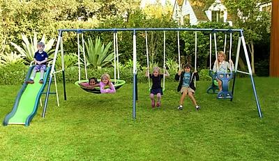 Natus Inc Rosemead Metal Slide and Swing Set