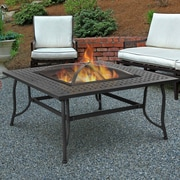 Real Flame Chelsea Wood Burning Fire Pit Table