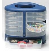 Sana Enterprises Mini Plastic Craft Plastic Bin; Blue