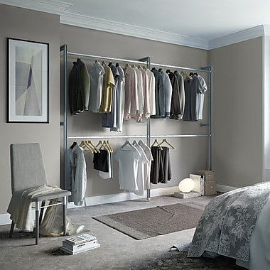 Space Pro Relax 100''W Closet System
