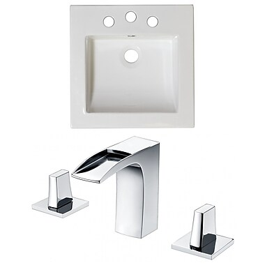 American Imaginations Single Bathroom Vanity Top