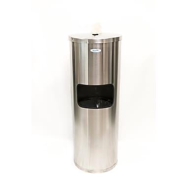Wipe-A-Way Centerpull Wipe Dispenser, Steel, 800 Wipes (WA-FAC-SS)