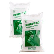 Throw 'N Go Antibacterial Wipes