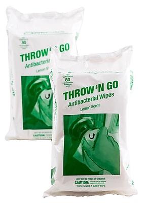 Throw 'N Go Antibacterial Wipes