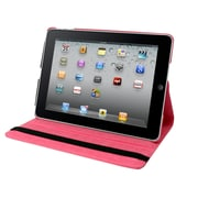 "Natico iPad Pro Faux Leather 360 Degrees Rotating Case 12.90"" Dark Pink (60-IPRO-360-DPK)"