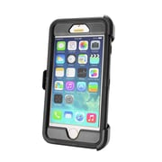 Natico, 60-IHP-651-BK, Iphone 6 Plus Hard Case With Belt Clip, Black