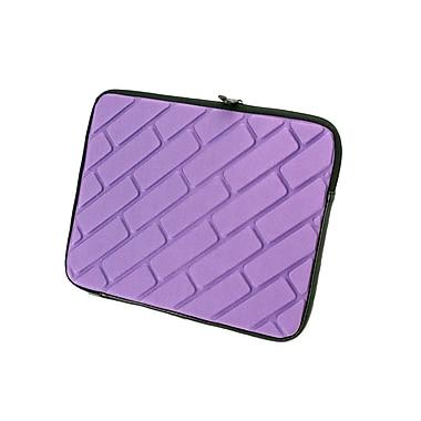 Natico, 60-TL182-PR, Tablet Or Ipad Case, Brick Design, Purple