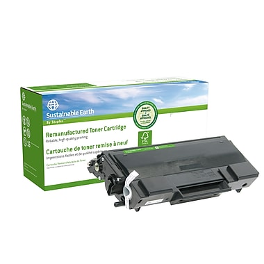 Staples® Sustainable Earth Brother TN650 Toner Cartridge, High Yield