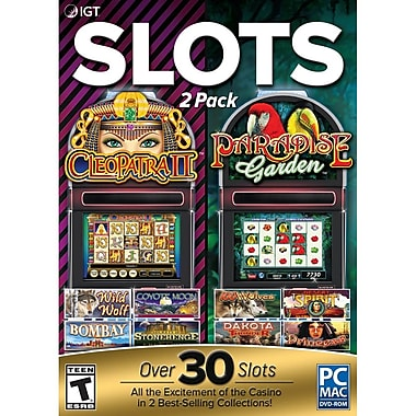 Encore IGT Cleopatra and Paradise Garden 2 Pack (for PC) [Download]
