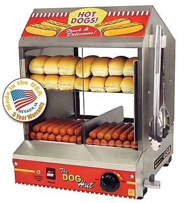 Paragon International Dog Hut Hot Dog Steamer WYF078276203535