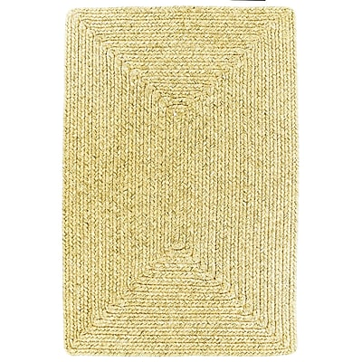 Homespice Decor Ultra-Durable Sand Indoor/Outdoor Rug; 5' x 8'