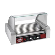 Great Northern Popcorn Mad Dawg Commercial 9 Roller Hot Dog Machine w/ Cover