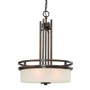 Dolan Designs Multnomah 3-Light Drum Pendant