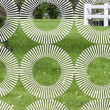 Odhams Press Radial Decorative Window Film; 84'' H x 45'' W