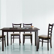 Wholesale Interiors Baxton Studio Keitaro 5 Piece Dining Set