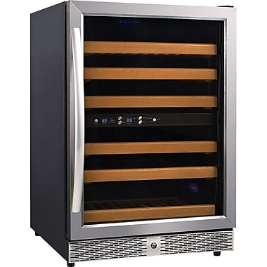 Eurodib 54 Bottle Dual Zone Freestanding Wine Cooler