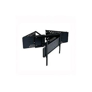 Peerless-AV Flat Panel Tilt/Swivel Corner Mount for 32'' - 58'' Flat Panel Screens; Black